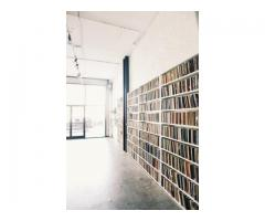 Library of Artist Sketchbooks in Williamsburg