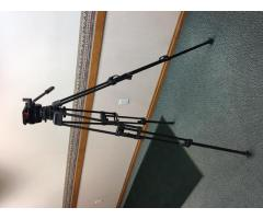Sachtler Carbon Fiber Tripod with Speed Balance DV 10 SB Head USED