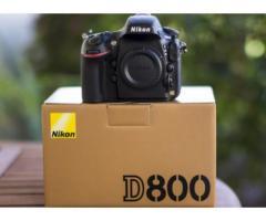 Nikon D800 DSLR Body