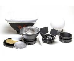 K-9 Light Modifiers Specially Designed for Speedlights.